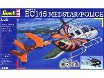 Revell EC 145 medstar/police 1:32