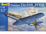 """Revell Dornier Do 335 """"pfeil""""  1:48"""