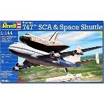 Revell Boeing 747 met Space Shuttle  1:144