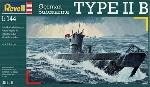 Revell Duitse onderzeeer Type IIB
