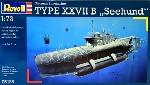 "Revell Duitse onderzeeer ""Seehund"" 1:72"