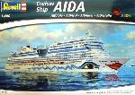 Revell Aida Blu Cruise Ship  1:400
