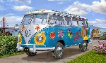 Revell Samba Bus Flower Power 1:24