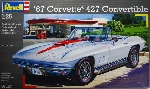 Revell 67 Corvette 427 Convertible1:25