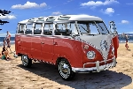 Revell VW T1 Samba Bus1:24