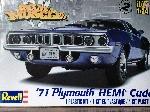 Revell 71 Plymouth Hemi Cuda Convertible