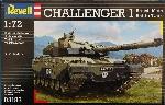 Revell Challenger I Tank 1/72