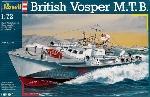Revell Britse Vosper Motor Torpedo Boot 1/72