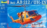 Revell Bell Heli AB 212 Model-set