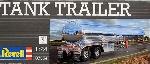 Revell Beall Tank Trailer Chroom 1/24