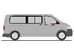 Rietze VW T5 Gp Deutsche Bahn  H0