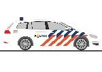 Rietze VW Golf 7 Politie NL  H0