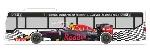 Rietze MB Citaro Formula 1 Grosser Preis von Osterreich - Red Bull  1:87