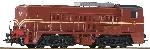 Roco NS Diesellok 2200/2260 Bruin AC Digitaal