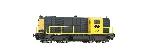 Roco NS Diesellok 2435 Geel/Grijs AC Sound