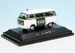 Schuco VW T2 Polizei H0