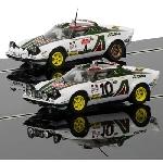 Scalextric Lancia Stratos 2x  1976 Rally