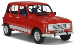 Solido Renault 4 GTL Rood 1:18
