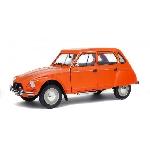 Solido Citroen Dyane 6 Oranje 1967 1:18