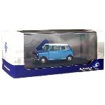 Solido Morris Mini Cooper S Blauw wit dak  1967  1:43