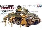 Tamiya M4A3 Sherman 75 MM Gun 1:35