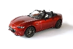 Triple 9 Mazda MX 5  ND Rood 1:18