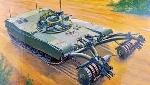 Trumpeter M I Panther Mineclearing Tank  1:35