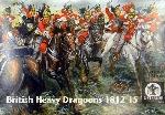 Waterloo Britisch Heavy Dragoons 1812-15 1:72