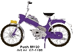 WSI Puch MV 50 Paars 1:10