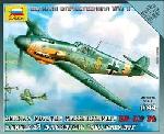 Zvesda Messerschmitt BF-109 F2  1:144