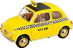 Burago Fiat 500  Taxi  1:18